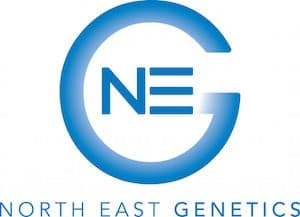 North East Genetics Retina Logo